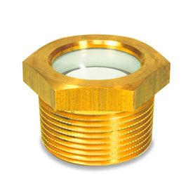 Brass Fluid Level Sight Glasses w/o Reflector