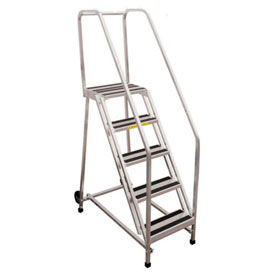 P.W. Platforms Aluminum Rolling Ladders