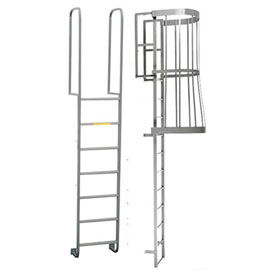 P.W. Platforms Fixed Access Ladders