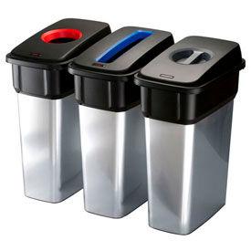 Vileda Geo-Metallic Recycling Bins