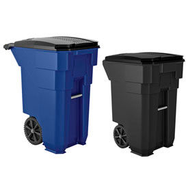 Suncast Commercial Wheeled Trash Cans