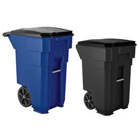 Suncast Commercial Wheeled Trash Cans