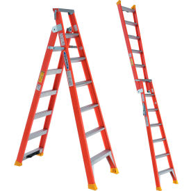 Werner Dual Purpose Fiberglass Ladders