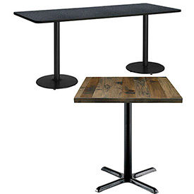 Counter Height Lunchroom & Restaurant Tables