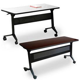 Mayline® - Flip-N-Go Series Flip-Top Training Tables