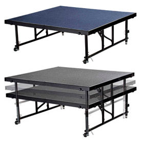 National Public Seating® - Adjustable Height Portable Stages