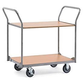 Relius Solutions Wood Shelf Cart