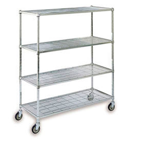 Relius Sq. post Wire Shelf Trucks