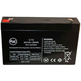 AJC® Brand Replacement Lead Acid Batteries For Expertpower