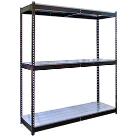 Rivetwell Boltless Shelving With EZ Decking