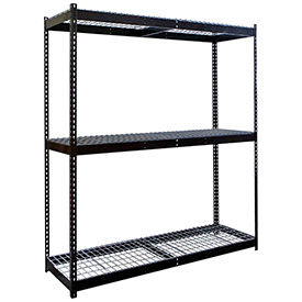 Rivetwell Boltless Shelving With Wire Decking