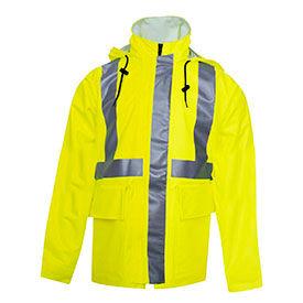 FR Hi-Vis Rainwear Jackets