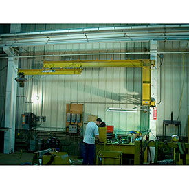 Contrx Wall-Mount Full Cantilever Telescoping Jib Crane