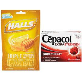 Sore Throat/Cough Lozenges