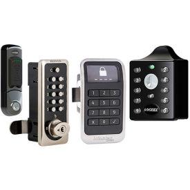 Electronic Keypad Locks - Surface or Flush Mounted
