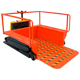 Ballymore Powered Drive & Scissor Lift Platform Portable Loading Dock
