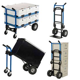 Harper™ 4-in-1 Convertible Hand Trucks