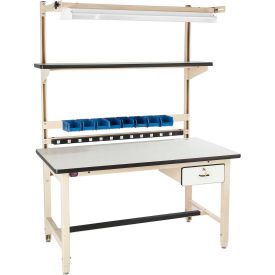 Pro-Line Bench-In-A-Box Adjustable Height Workbenches