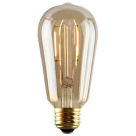 Nostalgia Amber LED Filament Lamps
