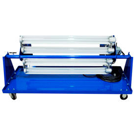 Explosion Proof Light Carts And Mobile Paint Spray Booth Lights On Dolly Carts