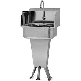 Sani-lav Standing Foot Pedal Hand Sinks