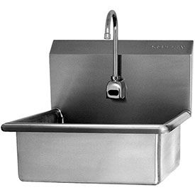 Sani-Lav Wall Mount Sink With Sensor Faucet