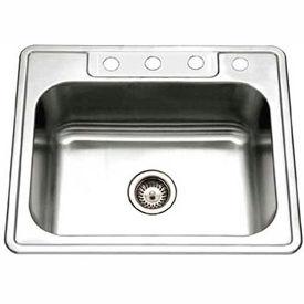 Single Bowl Drop In Kitchen Sinks