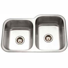 Multi Compartment Undermount Kitchen Sinks
