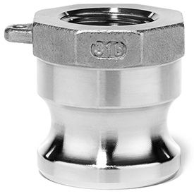 316 Stainless Steel Cam and Groove Fittings for Oil, Chemicals, and Petroleum