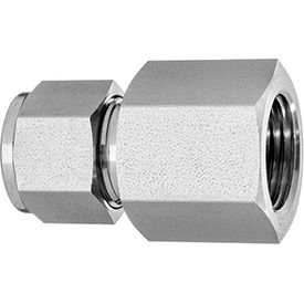 Straight Adapter - Tube to Female Threaded Pipe