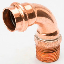 Press Copper 90 Degree Elbows