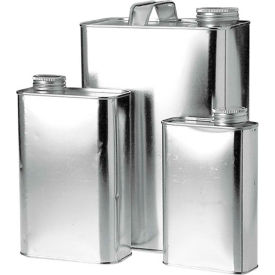 Qorpak® Metal Oblong and Paint Cans
