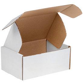Corrugated Literature Mailers - Tab Lock White