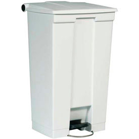 Rubbermaid® Plastic Step On Trash Can