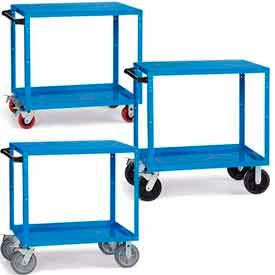 RELIUS ELITE Premium Reversible Shelf Trucks
