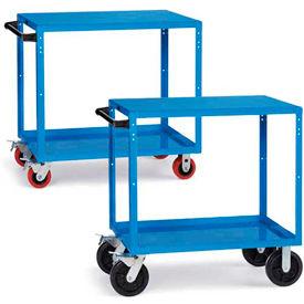 RELIUS ELITE Premium Flush-Shelf Shop Carts
