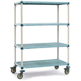 MetroMax® Shelf Trucks With Microban
