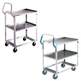Stainless Steel Ergonomic Handle Shelf Carts