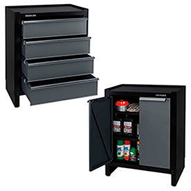 Stack-On Wall Cabinets and Project Centers