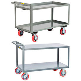 Ergonomic Steel Stock & Shelf Trucks