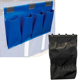 Janitorial Supply Organizers for Canvas and Vinyl Basket Trucks