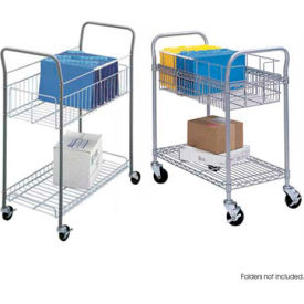 Safco Open Top Wire Mail Carts