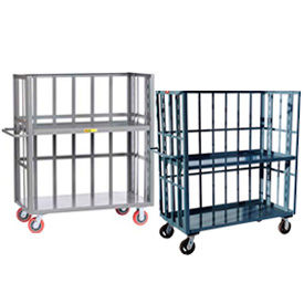 Slatted Fixed & Adjustable Shelf Trucks