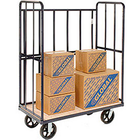 3-Sided Tubular Steel Shelf Trucks