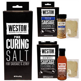 Weston Seasoning Kits and Seasonings