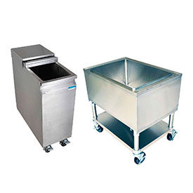 Under Bar Mobile Ice Bins