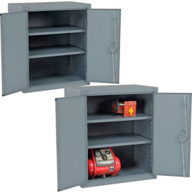 Global™ All Welded Heavy Duty Counter Height Storage Cabinets