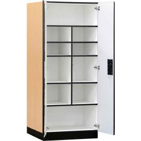 Salsbury Designer Wood Storage Cabinets