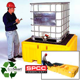 Ultra-IBC Spill Pallet Plus® & Ultra-Twin IBC Spill Pallets®