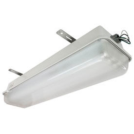 Hazardous Location Poly/Fiberglass Linear Fixtures With Emergency Backup